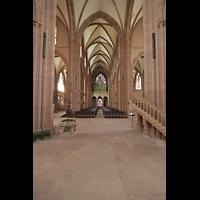 Oppenheim, St. Katharinen, Blick vom Ostchor in Richtung Orgel