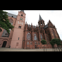 Oppenheim, St. Katharinen, Seitenschiff von außen