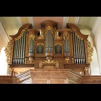 Mühlheim / Eis, Schlosskirche, Orgelprospekt