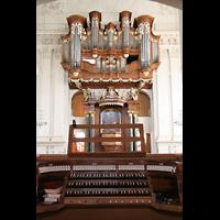 Kirchheimbolanden, St. Paulus, Orgel mit elektrischen Spieltisch