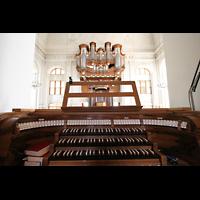 Kirchheimbolanden, St. Paulus, Elektrischer Spieltisch und Orgel