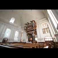 Kirchheimbolanden, St. Paulus, Innenraum mit Orgel