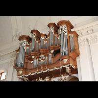 Kirchheimbolanden, St. Paulus, Orgel von der Seite gesehen