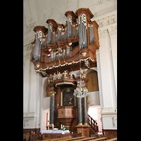 Kirchheimbolanden, St. Paulus, Orgel und Chorraum