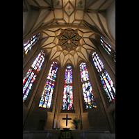 Meisenheim am Glan, Schlosskirche St. Wolfgang, Chorraum mit Gewölbe