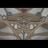 Meisenheim am Glan, Schlosskirche St. Wolfgang, Doppelgewölbe in der Grabkapelle