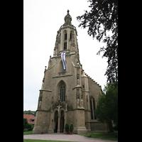 Meisenheim am Glan, Schlosskirche St. Wolfgang, Turm