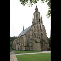 Meisenheim am Glan, Schlosskirche St. Wolfgang, Außenansicht