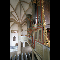 Meisenheim am Glan, Schlosskirche St. Wolfgang, Orgelempore