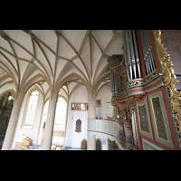 Meisenheim am Glan, Schlosskirche St. Wolfgang, Orgel und Seitenschiff