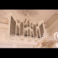 Saarbrücken, Ludwigskirche, Orgel perspektivisch