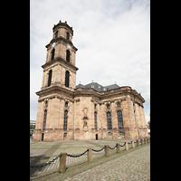 Saarbrücken, Ludwigskirche, Außenansicht