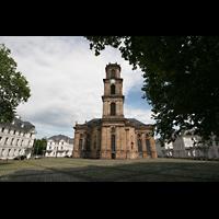 Saarbrücken, Ludwigskirche, Kirche und Ludwigsplatz