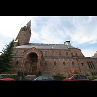 Saarbrücken, Christ-König, Ansicht von der Seite