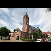 Saarbrücken, Christ-König, Außenansicht