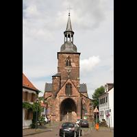 Saarbrücken, Stiftskirche St. Arnual, Turm