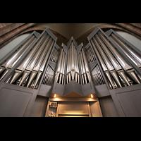 Saarbrücken, Stiftskirche St. Arnual, Orgel mit Spieltisch