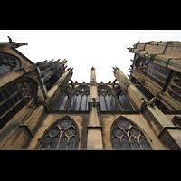 Metz, Cathédrale Saint-Étienne (Langschifforgel), Seitenansicht