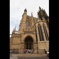 Metz, Cathédrale Saint-Étienne (Langschifforgel), Chorhaupt 'Notre-Dame-la-Ronde' mit Jungfrauenportal