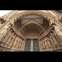 Metz, Cathédrale Saint-Étienne (Langschifforgel), Jungfrauenportal