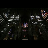 Metz, Cathédrale Saint-Étienne (Langschifforgel), Fenster im Vierungsbereich