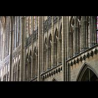 Metz, Cathédrale Saint-Étienne (Langschifforgel), Langhaus-Arkaden