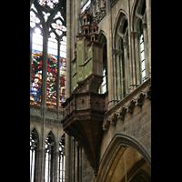 Metz, Cathédrale Saint-Étienne (Langschifforgel), Schwalbennestorgel