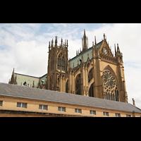 Metz, Cathédrale Saint-Étienne (Langschifforgel), Außenansicht