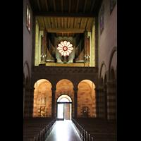 Echternach, Basilika St. Willibrord, Orgelempore