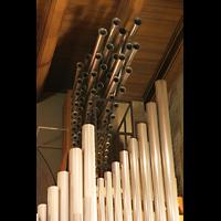 Echternach, Basilika St. Willibrord, Spanische Trompeten rechts