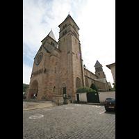 Echternach, Basilika St. Willibrord, Außenansicht