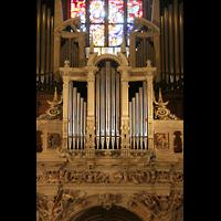 Luxemburg, Kathedrale (Symphonische Orgel), Rückpositiv