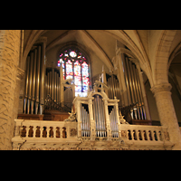 Luxemburg, Kathedrale (Symphonische Orgel), Klassische Orgel perspektivisch