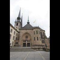 Luxemburg, Kathedrale (Symphonische Orgel), Seitenansicht