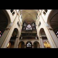 Luxembourg (Luxemburg), Saint-Alphonse (St. Alfons / Paatrekiirch), Orgelempore