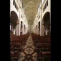 Luxembourg (Luxemburg), Saint-Alphonse (St. Alfons / Paatrekiirch), Innenraum / Hauptschiff in Richtung Chor