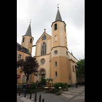 Luxembourg (Luxemburg), Saint-Alphonse (St. Alfons / Paatrekiirch), Fassade