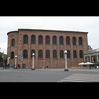 Trier, Konstantin-Basilika (Chororgel), Außenansicht