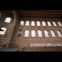 Trier, Konstantin-Basilika (Chororgel), Orgel und Seitenwand