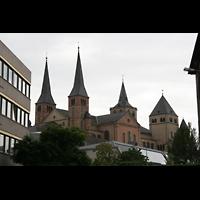Trier, Dom St. Peter (Kryptaorgel), Domtürme