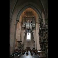 Trier, Dom St. Peter (Kryptaorgel), Hauptorgelempore