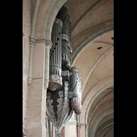 Trier, Dom St. Peter (Kryptaorgel), Hauptorgel als Schwalbennest