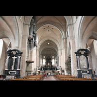 Trier, Dom St. Peter (Kryptaorgel), Innenraum / Hauptschiff in Richtung Ostchor