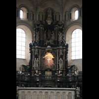 Trier, Dom St. Peter (Kryptaorgel), Hochaltar im Ostchor