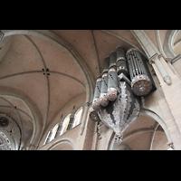 Trier, Dom St. Peter (Kryptaorgel), Hauptorgel und Gewölbe