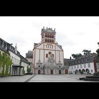 Trier, Basilika St. Matthias, Basilika auf dem Freihof