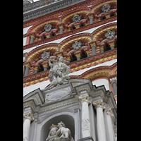 Trier, Basilika St. Matthias, Turm-Detail