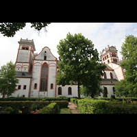 Trier, Basilika St. Matthias, Seitenansicht