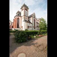 Trier, Basilika St. Matthias, Außenansicht