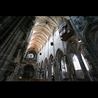 Nürnberg (Nuremberg), St. Lorenz (Positiv), Hauptorgel und Laurentiusorgel